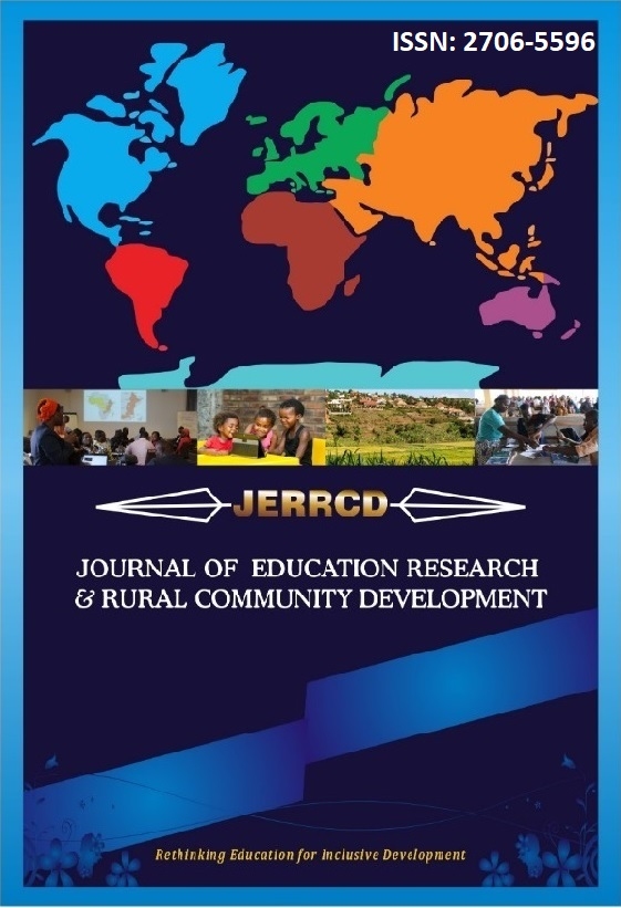 Journal of Education Research and Rural Community Development
